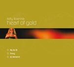 KELLY LLORENNA - Heart Of Gold (Front Cover)