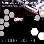 SIGNUM feat JULIE THOMPSON - Never Be The Same (Front Cover)