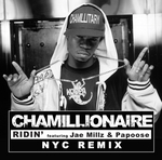 CHAMILLIONAIRE - Ridin' (NYC Remix) (Front Cover)