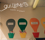 GUILLEMOTS - Trains To Brazil (Front Cover)