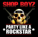 SHOP BOYZ - Party Like A Rockstar (feat. Lil Wayne, Jim Jones & Chamillionaire) (Front Cover)