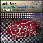 AUDIO FORCE - Leave The Word Behind (Front Cover)