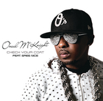 O'NEAL MCKNIGHT feat GREG NICE - Check Your Coat (Front Cover)