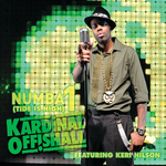 KARDINAL OFFISHALL - Numba 1 (Tide Is High) (Front Cover)