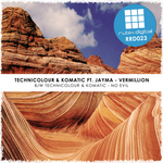 TECHNICOLOUR & KOMATIC feat JAYMA - Vermillion (Front Cover)
