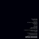 STERNREKORDER - Weissensee (Back Cover)