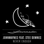 JOHNWAYNES feat STEE DOWNES - Never Enough (Front Cover)