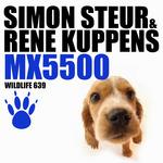 STEUR, Simon/RENE KUPPENS - MX5500 (Front Cover)