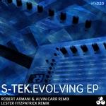 S TEK - Evolving EP (Front Cover)