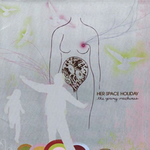 HER SPACE HOLIDAY - The Young Machines (Front Cover)