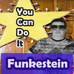 FUNKESTEIN - You Can Do It (Front Cover)
