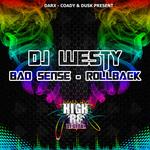 DJ WESTY - Bad Sense (Front Cover)
