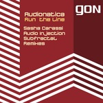 AUDIONATICA - Run The Line (Front Cover)
