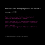 A DEEPER GROOVE - Not Disco EP (Back Cover)
