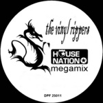 VINYL RIPPERS, The - House Nation Megamix (Front Cover)