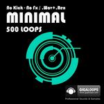 GIGALOOPS - 500 Minmal Loops (Sample Pack WAV/REX) (Front Cover)
