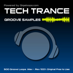 Gigaloops: 500 Tech Trance Loops (Sample Pack WAV/REX)