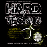 GIGALOOPS - 500 Hard Techno Loops (Sample Pack WAV/REX) (Front Cover)
