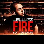 JELLUZZ feat JAKE GOSLING - Fire (Front Cover)