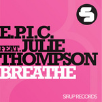 EPIC feat JULIE THOMPSON - Breathe (Front Cover)
