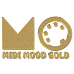 VARIOUS - Midi Mood Gold (Front Cover)