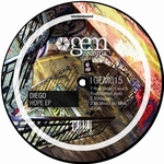 DIEGO - Hope EP (Front Cover)