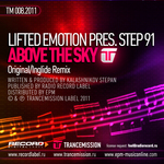 LIFTED EMOTION presents STEP 91 - Above The Sky (Front Cover)