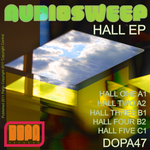 AUDIOSWEEP - Hall EP (Front Cover)