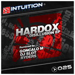 HARDOX - Disillusion EP (Front Cover)