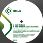 ROLLIN - Rule The Dance (Back Cover)