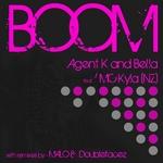 AGENT K/BELLA feat MC KYLA - Boom (Front Cover)