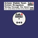 ZLOBIN, Artem feat ANTON OVSYUKOV - String Through The Heart (Front Cover)