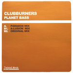 CLUBBURNERS - Planet Bass (Front Cover)