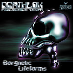 DEATLOK HARDCORE TEAM - Borgnetic Lifeforms (Front Cover)