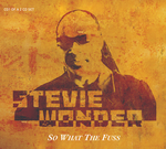 WONDER, Stevie - So What The Fuss (Front Cover)