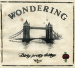 DIRTY PRETTY THINGS - Wondering (Front Cover)