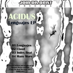 LOLO AKA ACIDUS - Lenguajes EP (Front Cover)