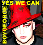 BOY GEORGE - Yes We Can (Front Cover)