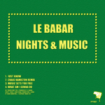 LE BABAR - Nights & Music EP (Front Cover)