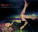 JEANETTE - Undress To The Beat (Digital Version) (Front Cover)