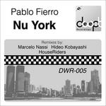 FIERRO, Pablo - Nu York (Front Cover)