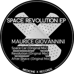 GIOVANNINI, Maurice - Space Revolution EP (Front Cover)