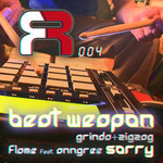 GRINDA+ZIGZAG/FLAME - Beat Weapon (Front Cover)