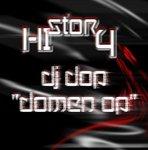 DJ DOP DOMEN OP - History (Front Cover)
