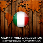 VARIOUS - Made From Collection Best Of House Played In Italy (Front Cover)