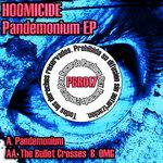 HOOMICIDE - Pandemonium EP (Back Cover)