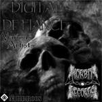 PHANTOM/YENGO/SIR MORBIT/JON IN THE SUBURBS - Digital Defiance EP (Front Cover)