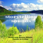 VARIOUS - Storytelling Sounds (51 Progressive House Music Tunes In A-Key) (Front Cover)