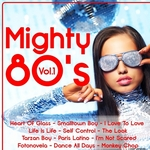 VARIOUS - Mighty 80's Vol  1 (Front Cover)