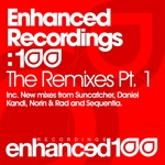 ESTIVA/WILL HOLLAND/TEMPLE ONE/ANHKEN - Enhanced Recordings: 100 The Remixes Part 1 (Front Cover)